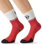 ASSOS EXPLOIT EVO 7 SOCKS. RED