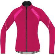 GORE BIKE WEAR POWER LADY 2.0 SO JACKET . JAZZY PINK