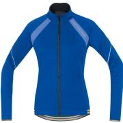 GORE BIKE WEAR POWER LADY 2.0 SO JACKET . BLUE BLIZZARD