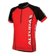 ALTURA KIDS S/S JERSEY. RED